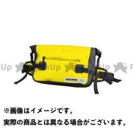【エントリーで更にP5倍】KOMINE ツーリング用バッグ SA-222 WPヒップバッグ カラー:イエロー コミネ