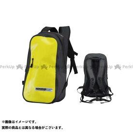 【エントリーで更にP5倍】KOMINE ツーリング用バッグ SA-223 WRバックパック M カラー:イエロー コミネ