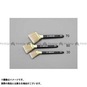 【無料雑誌付き】ESCO 作業場工具 30mm 高級万能刷毛(45°) エスコ