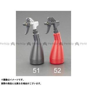 【ポイント最大18倍】ESCO 作業場工具 750ml 工業用スプレーボトル(ダブルアクション/黒) エスコ
