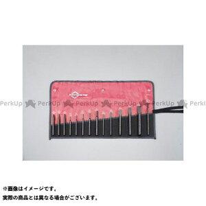 【雑誌付き】ESCO ハンドツール 14本組 タガネ・ポンチセット エスコ