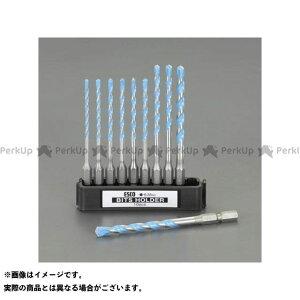 【雑誌付き】ESCO 電動工具 10本組 マルチドリル(六角軸) エスコ