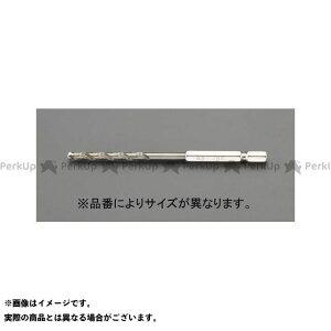 【雑誌付き】ESCO 電動工具 4.0x108mm ドリルビット(六角軸/CO-HSS) エスコ