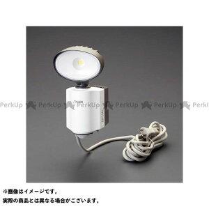 【ポイント最大18倍】ESCO ハンドツール AC100V/14W LED人感センサーライト(防雨型) エスコ
