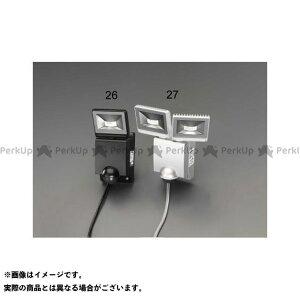【雑誌付き】ESCO ハンドツール AC100V/12W LEDセンサーライト(1灯) エスコ