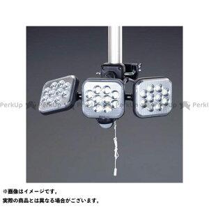 【雑誌付き】ESCO ハンドツール AC100V/14Wx3 LEDセンサーライト エスコ