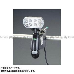 【ポイント最大18倍】ESCO ハンドツール AC100V LEDセンサーライト(60Hz/カメラ付) エスコ