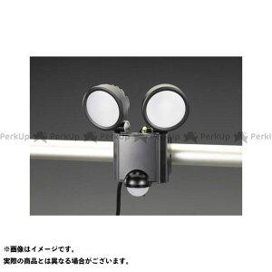 【雑誌付き】ESCO ハンドツール AC100V/16.0W LEDセンサーライト エスコ