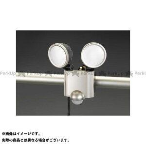【雑誌付き】ESCO ハンドツール AC100V/20.0W LEDセンサーライト エスコ