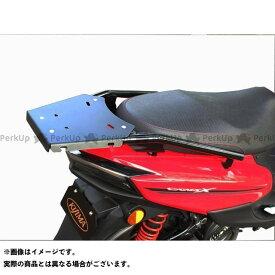 送料無料 KIJIMA シグナスX SR キャリア・サポート リアキャリア BOX対応(ブラック)