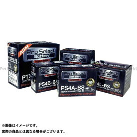 Pro Select Battery 汎用 バッテリー関連パーツ プロセレクトバッテリー PT4L-BS シールド式 プロセレクトバッテリー