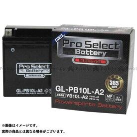 【エントリーで最大P19倍】Pro Select Battery 汎用 バッテリー関連パーツ プロセレクトバッテリー GL-PB10L-A2(YB10L-A2 互換)(液入) プロセレクトバッテリー