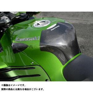 【エントリーで最大P19倍】Magical Racing ニンジャZX-14R タンク関連パーツ タンクエンド(中空モノコック構造) 材質:FRP製・白 マジカルレーシング
