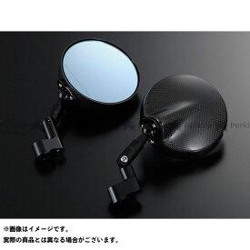Magical Racing 汎用 ミラー関連パーツ NK-1ミラー・タイプ6ヘッド ショートエルボステム 綾織りカーボン製 ブラック 正ネジ10mm/正ネジ10mm マジカルレーシング
