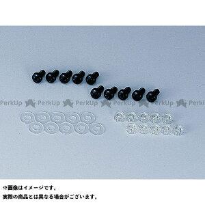 【無料雑誌付き】POSH Faith 汎用 その他外装関連パーツ ポリカーボネートスクリーンビス 10個 カラー:ブラック サイズ:M5×20 ポッシュフェイス