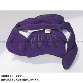 【無料雑誌付き】LS2 HELMETS ヘルメット内装オプション G-MAC用ヘッドパッド サイズ:M エルエスツーヘルメット