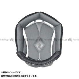 【無料雑誌付き】LS2 HELMETS ヘルメット内装オプション HE-9 ヘッドパッド(LS2) サイズ:L エルエスツーヘルメット