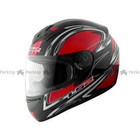 エルエスツー フルフェイスヘルメット LS2 BLAST(ブラスト) ダイアモンドレッド XL/61-62cm LS2 HELMETS