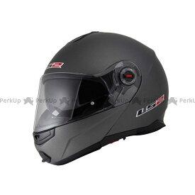エルエスツー システムヘルメット(フリップアップ) 【売り尽くし】 LS2 G-MAC-RIDE(ジーマックライド) マットチタニウム XL/61-62cm LS2 HELMETS