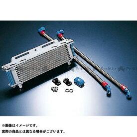 【雑誌付き】ACTIVE GPZ400F Z400GP Z750GP オイルクーラー オイルクーラーキット ストレート #6 9-13R カラー:シルバー アクティブ