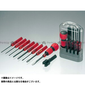 【無料雑誌付き】ANEX ハンドツール NO.6950 電工グリップ8本組ドライバーセット アネックス