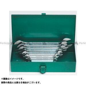 【無料雑誌付き】STAHLWILLE ハンドツール 10/8K 両口スパナセット(メタルケース入) スタビレー