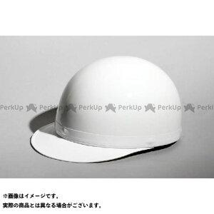 【エントリーで最大P19倍】NBS ハーフヘルメット ヘルメット 半キャップ 白ツバ KC-100A カラー:ホワイト サイズ:XL エヌビーエス