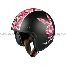 オージーケーカブト ジェットヘルメット KL-mini PLAYBOY(ケイエル・ミニ プレイボーイ) フラットブラック-5 OGK KABUTO