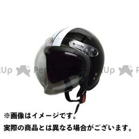 【無料雑誌付き】moto boite bb ジェットヘルメット スモールジェット 回転BBシールド付 カラー:ブラック/ホワイト モトボワットBB