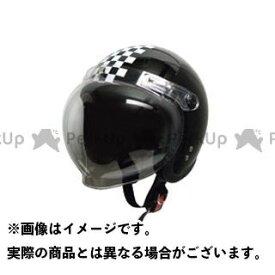 【無料雑誌付き】moto boite bb ジェットヘルメット スモールジェット 回転BBシールド付 カラー:ブラック/チェック モトボワットBB
