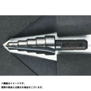 【エントリーで最大P19倍】G&J 切削工具 XS513 六角シャンクステップドリル(5-13) ジージェイホール
