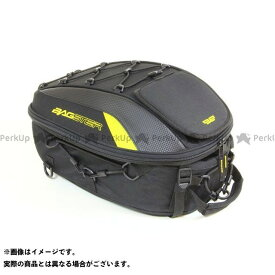 【エントリーで最大P20倍】BAGSTER ツーリング用バッグ シートバッグ SPIDER 15-23L カラー:ブラック/イエロー バグスター