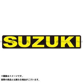 ユーフォー ステッカー パンツレッグロゴ タイプ:SUZUKI/イエロー(長さ23cm) UFO