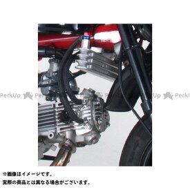 【雑誌付き】KITACO オイルクーラー ニュースーパーオイルクーラーキット 右側シリンダーヘッド取り出し STD/NEW STD/ULTRA-SE ヘッド用(3段コア) キタコ