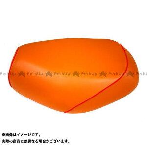【エントリーで最大P19倍】Grondement シグナスX シート関連パーツ シグナスX SE44J(1MS) 国産シートカバー オレンジ タイプ:被せ 仕様:赤パイピング グロンドマン
