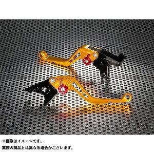 【無料雑誌付き】U-KANAYA バンディット250 レバー スタンダードタイプ ショートアルミビレットレバーセット レバー:ゴールド アジャスター:オレンジ ユーカナヤ