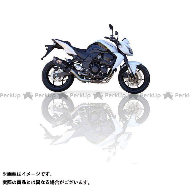 【エントリーでポイント10倍】送料無料 イクシル Z750S マフラー本体 KAWASAKI Z750 S/R (07-12) ZR750L SLIP ON COV-オーバルタイプ フルエキ