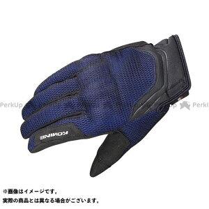 【雑誌付き】KOMINE ライディンググローブ GK-194 プロテクト3Dメッシュグローブ-ドウジ カラー:3D ブルー サイズ:XL コミネ