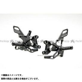 STRIKER GSX-S1000 GSX-S1000F カタナ バックステップ関連パーツ スペシャルステップキット 6ポジション(ブラック) ストライカー