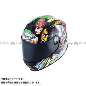 スオーミー フルフェイスヘルメット SR SPORT GANBLE TOP PLAYER(エスアールスポーツ・ギャンブルトッププレイヤー) 日本特別仕様 XL/61-62cm 送料無料 SUOMY