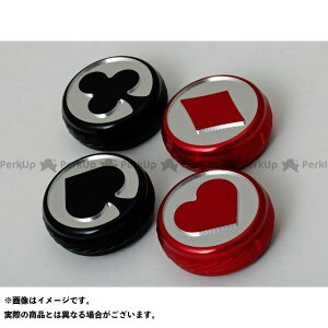 【無料雑誌付き】MISUMI ENGINIEERING ハーレー汎用 ドレスアップ・カバー エンリッチナー/チョークノブカバー ダイヤ カラー:レッド ミスミエンジニアリング