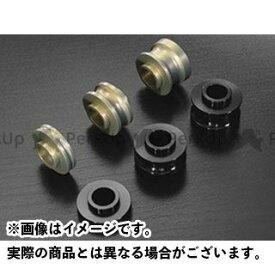 KOHKEN 汎用 その他ブレーキ用パーツ ブレンボ ラジアルマウントオフセットカラー 4個セット オフセット7mm(表/凸・裏/凹) ブラック コーケン