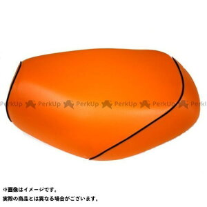 【エントリーで最大P19倍】Grondement K125 シート関連パーツ K125(S10)コレダ グロンドマン国産シートカバー 張替(オレンジ) 仕様:黒パイピング グロンドマン