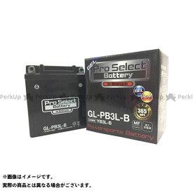 プロセレクトバッテリー Pro Select Battery バッテリー関連パーツ GL-PB3L-B(YB3L-B互換) ジェルタイプ 液入り充電済み