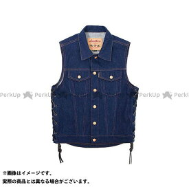 KADOYA カドヤ ジャケット K'S PRODUCT No.6571 BIKER DENIM VEST 3(インディゴブルー) M