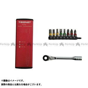 【雑誌付き】SIGNET ハンドツール 22046 ミニラチェセット レッド シグネット