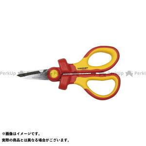 【無料雑誌付き】SIGNET ハンドツール E90047 絶縁はさみ 160MM シグネット