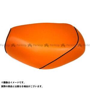 【エントリーで最大P19倍】Grondement ズーマー シート関連パーツ ズーマー(AF58) 国産シートカバー オレンジ タイプ:被せ 仕様:黒パイピング グロンドマン