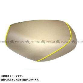 Grondement シグナスX シグナスX SR シート関連パーツ シグナスX(SEA5J/SEA8J)(BF9)4型(XC125SR)/ヤマハ グロンドマン国産シートカバー 被せ(ベージュ/黄色パイピング)