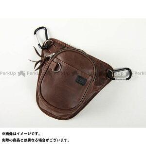 【無料雑誌付き】DEGNER ツーリング用バッグ 5S-W2TA レザーチョークバッグ(ブラウン) デグナー